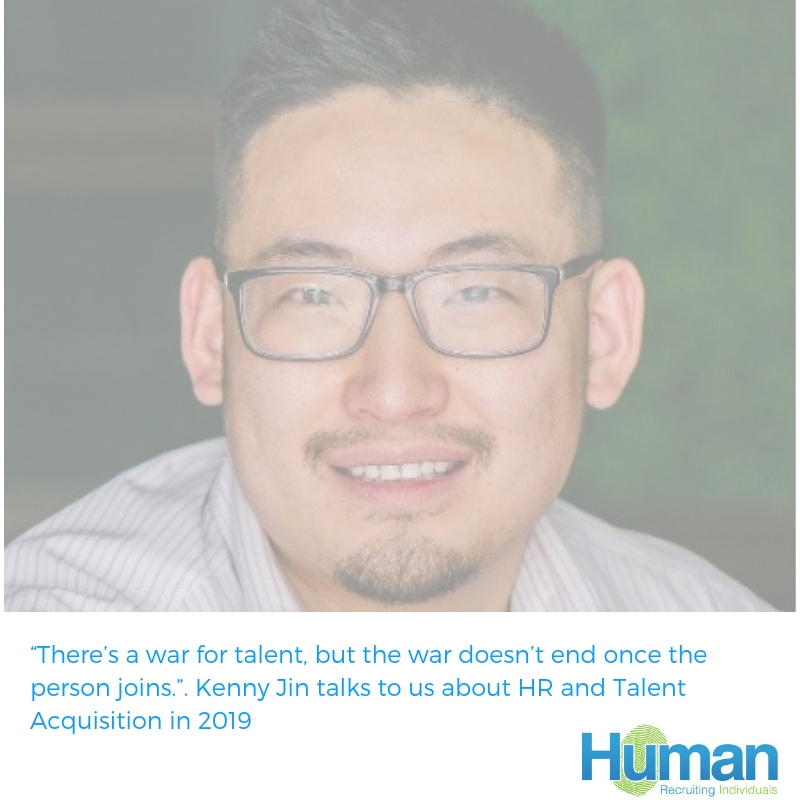 """""""There's a war for talent, but the war doesn't end once the person joins."""". Kenny Jin, Head of Talent Acquisition and HR Business Partner at REAPRA talks to us about HR and Talent Acquisition in 2019"""