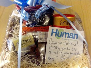 Recruit human hampers 18th may